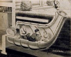 Bomb shelters that came in many different ways. In many different places as long as their families would be safe.