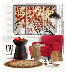 """""""Fall Day"""" by rosie305 ❤ liked on Polyvore featuring interior, interiors, interior design, home, home decor, interior decorating, Pottery Barn, Chloé, Topshop and decor"""