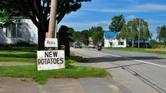 Farms selling their potatoes everywhere in Arroostook County Maine