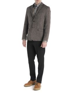Plectrum Single Breasted Wool Blazer