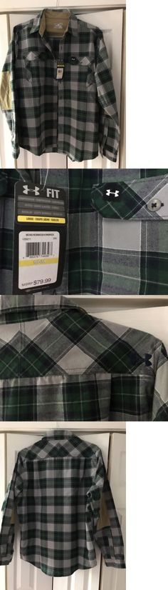 Shirts and Tops 177874: Nwt Under Armour Ua Borderland Flannel Shirt 1259211 $80 0$Ship -> BUY IT NOW ONLY: $49.99 on eBay!