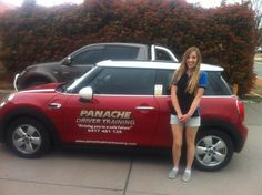 Would like to say congrats to Andrijana Sarcevic for passing her comp 22 in the Mini Cooper Chilli! Good work see on the defensive course:)  www.panachedrivertraining.com #Mini — at Panache Driver Training