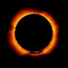 The moon blocks part of the sun during an annular eclipse on May 20, 2012 NASA, via Getty Images