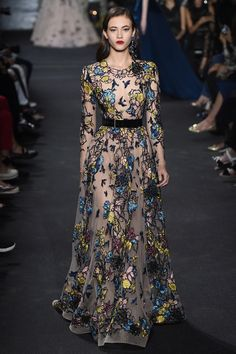 Elie Saab Fall 2016 Couture Fashion Show - Greta Varlese (Elite)