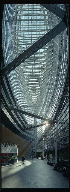 Tokyo International Forum Building, Yurakcho, Ginza. Japan