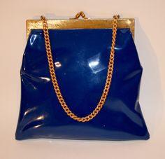 1950s Koret Patent Leather Handbag