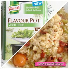 Sew White Knorr herb flavour pot review