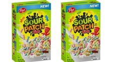Sour Patch Kids Cereal Is Hitting Shelves This Month, and My Taste Buds Are Already Tingling Kids Cereal, Sour Patch Kids, Sour Candy, Kid Memes, Taste Buds, Pop Tarts, Patches, Shelves, Gift Ideas