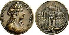 Dido and the Founding of Carthage - Ancient Numismatic  Mythology - www.bmertus.com