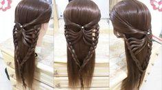peinados faciles bonitos y rapidos con trenzas para niña con ...