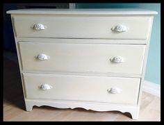 Cottage Chic 3-drawer Dresser 40L x 19W x 34H  by SimplyParis