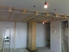 Plafond verlagen met Spanplafond en koof rondom de zijkanten ...