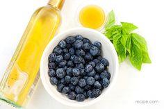How to Make Blueberry Basil Vinegar