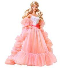 Amazon.com: Barbie My Favorite Peaches N Cream Barbie Doll: Toys & Games $115.00#girls#