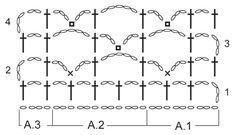 "Song For Susan - Gehaakte DROPS omslagdoek met sterrenpatroon van \""Cotton Merino\"". - Free pattern by DROPS Design"