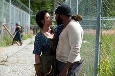 "Karen (Melissa Ponzio) and Tyreese (Chad Coleman) in ""The Walking Dead"""