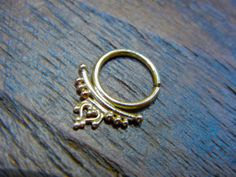 Apasra.+Indian+/+aztec+body+jewelry+14k+Gold+by+BeleafJewelry,+$105.00