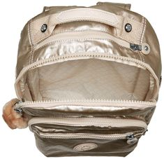 Kipling Womens Seoul S Metallic Backpack Sparkly Gold >>> You can find more details by visiting the image link. (This is an affiliate link) Travel Backpack, Fashion Backpack, Metallic Backpacks, Climbing Rope, Seoul, Image Link, Bags, Stuff To Buy, Gold