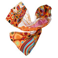 Official FREYWILLE Online Boutique - Silk Scarf Satin - Scarves - Accessories