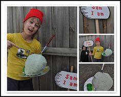 homemade book week character costumes | Make Create Do sam i am, costume ideas, costum book, book week, homemade books, halloween costum, character costumes, book charact, samiamcostumebookjpg 518418