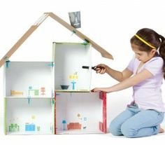 Makedo Dollhouse #ecofriendlytoy