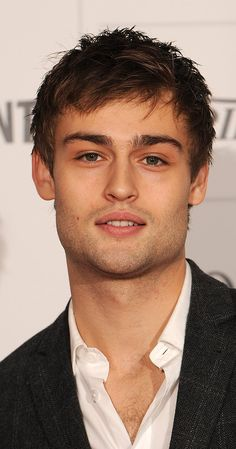Douglas Booth, Actor: Jupiter Ascending. Douglas John Booth is an English actor. Booth was born in London, England, the son of Vivien (De Cala), an artist, and Simon Booth, who works in shipping for Citigroup. He has appeared on English television as (Christopher and His Kind (2011), Great Expectations (2011)), starred in the film Romeo & Juliet (2013), and played Shem, one of the sons of Noah, in Noah (2014). More recently, he ...