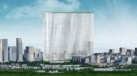 The winning Sou Fujimoto concept features a tower that in essence is a '21st Century Oasis...