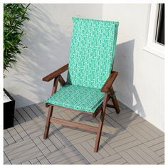 IKEA - ÄPPLARÖ Reclining chair, outdoor brown foldable stained