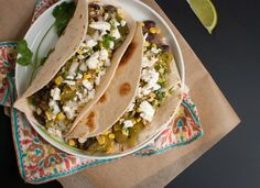 Black Bean and Tomatillo Tacos | The Public Kitchen | Food | KCET