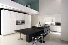 Binova küchen qualität schwarz weiß kücheninsel essbereich