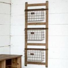 Farm Bureau Vertical Basket Rack