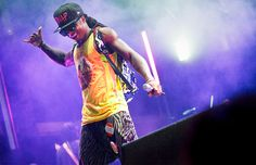 Lil Wayne @ Bonnaroo ahhhh cant believe I was actually there for this