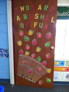 Classroom Door Decorations For Fall fall classroom door with student-made owls. | teaching | pinterest