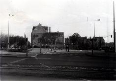 Rostock, Schröderplatz mit Uhr, 1978