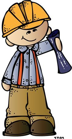 engineer boy ssb (c) Melonheadz Illustrating LLC 2014 colored. Cartoon Kids, Cartoon Images, Art For Kids, Crafts For Kids, Felt Quiet Books, Community Helpers, Little People, Art School, Clip Art
