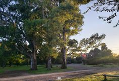 se puede disfrutar de un hermoso amanecer mientras ejercitas Country Roads, Buenos Aires, Dawn, Parks, Pictures
