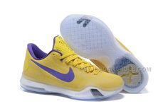 "e4740ea5df0b Kobe 10 Safari Print ""Yellow Purple"""