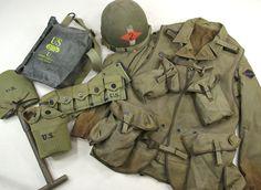 us army d'day uniform Military Gear, Military Weapons, Military History, Ww2 Weapons, Military Vehicles, Us Army Uniforms, British Uniforms, Us Ranger, American Uniform