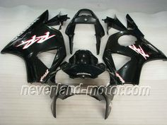 Carenado de ABS de Honda CBR900RR 954 2002-2003 - Negro