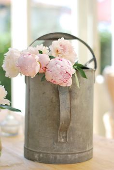 shabby chic #decor #flowers #floral #peonies