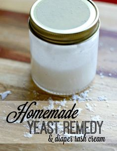 A homemade diaper yeast infection cream you'll be itching to try. #femalehealthed #yeastinfectiontreatment #yeastinfectioncauses