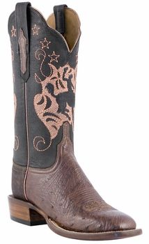*NEW* Womens Lucchese Since 1883 Sienna Smooth Ostrich C2310