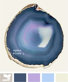 Blue | Inspiration for Art and Design: Palettes Featuring the Color #Blue