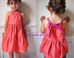 The eva dress- Instant download - 6m to 6T -Easy sewing-