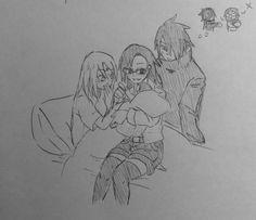 Birth of Sarada Naruhina, Shikatema, Narusaku, Boruto, Naruto Anime, Naruto Comic, Naruto Cute, Sasuke Uchiha Sakura Haruno, Shikamaru