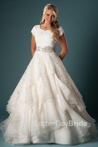 Modest Wedding Dresses : Esmerelda My favorite ballroom dress from my work!!