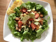 Texmex, kylling, salat, grønnsaker, paleo, glutenfri, melkefri, sommer Paleo, Frisk, Tex Mex, Nachos, Wok, Cobb Salad, Lime, Pineapple, Cilantro