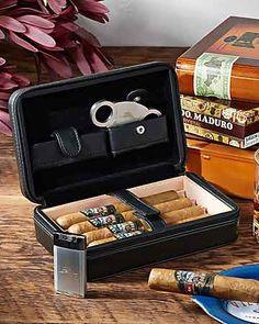 Tommy Bahama - Overnight Cigar Case Cigar Humidor, Cigar Bar, Pipes And Cigars, Cigars And Whiskey, Tommy Bahama, Cigar Travel Case, Cigar Club, Cigar Cases, Cigar Accessories