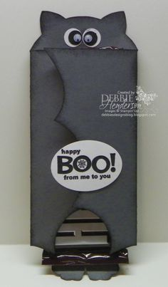 Halloween Chocolate Bar Cover