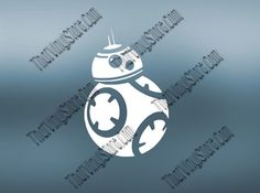 Star Wars BB8 Inspired Decal  Star Wars by ThatVinylStore on Etsy